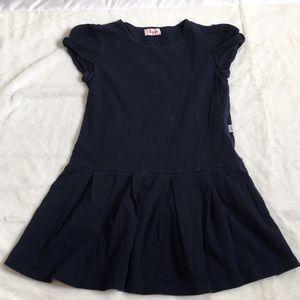 Il Gufo Little Girls Blue Dress Size 6 Y